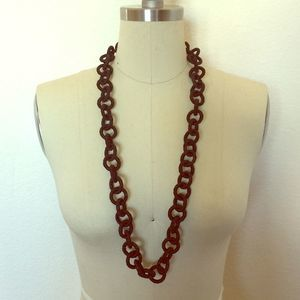 Black Chainlink Necklace